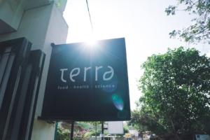 Terra Kuta Lombok healthy plant based food gluten free vegan café vegetarian slow food raw food foodie restaurant food with love surf yoga